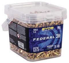 Federal 22 LR 36 Gr Copper-Plated HP BYOB (1375)