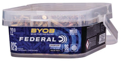 Federal 22 LR 36 Gr Copper-Plated HP BYOB (825)