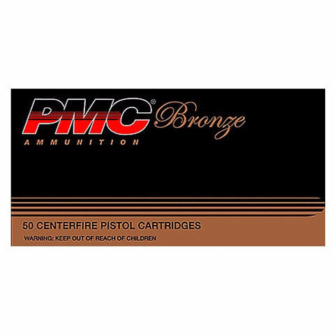 PMC Bronze 38 Super +P FMJ 130 Gr 50 Rnd Box
