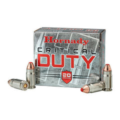 Hornady Critical Duty 357 Sig FlexLock 135 Gr 20 Rnd Box