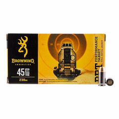 Browning BPT Performance 45 ACP 230 Gr FMJ 50 Rnd Box