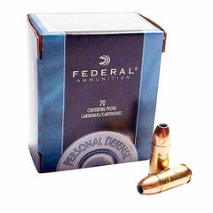 Federal Personal Defense 9 MM 115 Gr JHP 20 Rnd Box