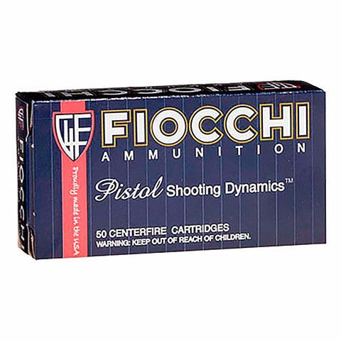 Fiocchi Pistol Shooting Dynamics 9MM 147 Gr FMJ 50 Rnd Box