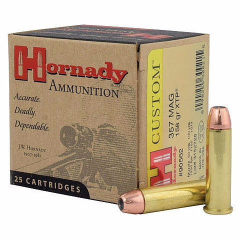 Hornady Custom 9MM 147 Gr JHP XTP 25 Rnd Box