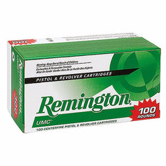 Remington UMC Value Pack 380 Auto 88 Gr JHP 100 Rnd Box