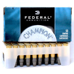 Federal 510 Champion 22 Long Rifle Solid 40 GR LRN HV 50 Rnd Box *Limit 10*