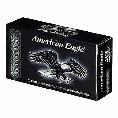 Federal 22LR 45 Gr American Eagle Suppressor Subsonic Copper Plated RN (50)