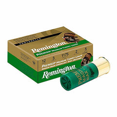 "Remington 12 Ga 3"" 4 Shot Copper-Plated Premier Magnum Turkey Loads (10)"