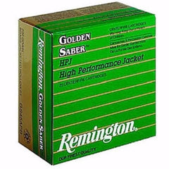 Remington Golden Saber 40 S&W 165 Gr Boat Tail Hollow Point 25 Rnd Box