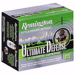 Remington Ultimate Defense Compact 9MM 124 Gr BJHP 20 Rnd Box