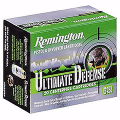 Remington Ultimate Defense Compact 380 Auto 102 Gr BJHP 20 Rnd Box