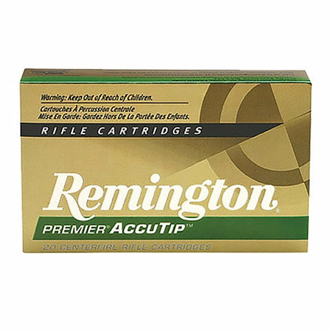 Remington Premier 270 Winchester AccuTip 130 Gr 20 Round Box