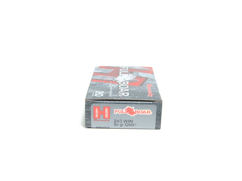 HORNADY 243 WIN 80 GR GMX® FULL BOAR (20)