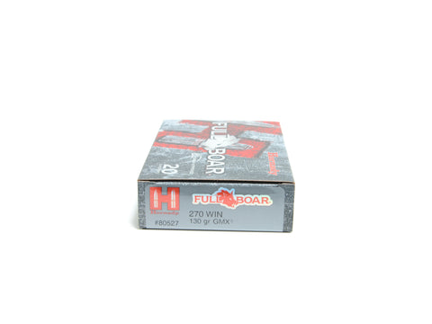 HORNADY 270 WIN 130 GR GMX® FULL BOAR (20)