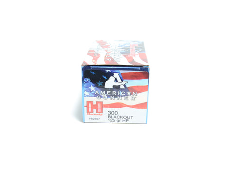 HORNADY 300 BLACKOUT 125 GR HP AG (50)
