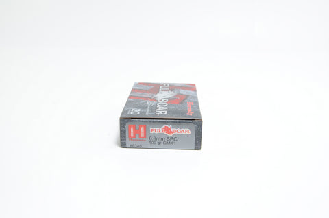 HORNADY 6.8MM SPC 100 GR GMX® FULL BOAR (20)