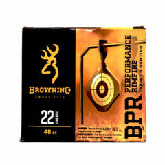 Browning Performance 22 LR High Velocity LRN 40 Gr 400 Rnd Box