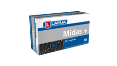 Lapua 22LR 40 Grain Lead Round Nose Midas Plus (50)