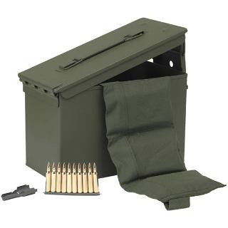 PMC Bronze 223 Rem 55 Gr FMJBT Stripper Clips 840 Rnd Ammo Can