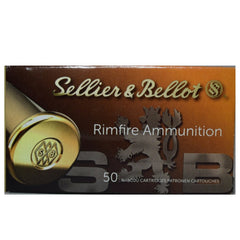 Sellier & Bellot  22LR  Subsonic LRN 40 Grain  50 Round Box