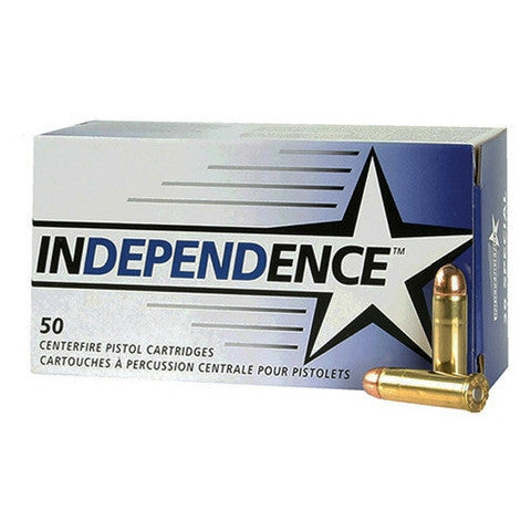 Federal Independence 9mm Full Metal Jacket 124 GR 50 Rnd Box