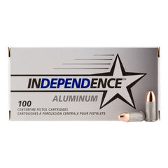 CCI Independence 9mm Luger 115 GR Full Metal Jacket 100 Rnd Box