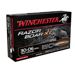 Winchester Razor Boar 30-06 Springfield 180 GR Hollow Point 20 Round Box S3006WB
