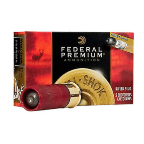 "Federal Vital-Shok Trueball Rifled Slug 12 Gauge 3"" 1 oz 5 Rnd Box PB131RS"