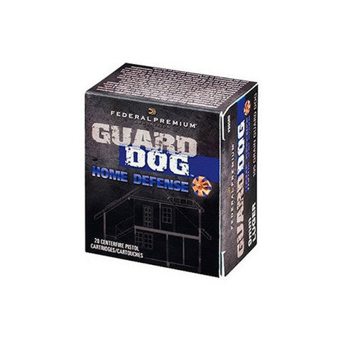Federal Guard Dog 45 ACP Full Metal Jacket 165 GR 20 Rnd Box
