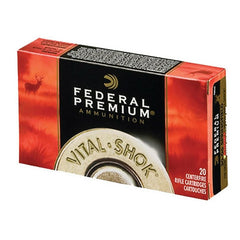 Federal Vital-Shok 7mm Rem Mag Sierra GameKing BTSP 150 GR 20 Rnd Box P7RD