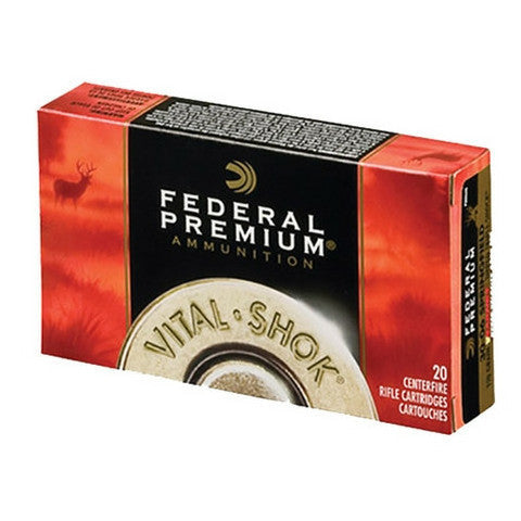 Federal Vital-Shok 270 Win 140 GR BondedTip BT 20 Rnd Box P270TT3