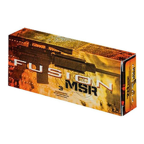 Federal Fusion MSR Medium Game 223/5.56 Fusion 62 GR 20 Rnd Box