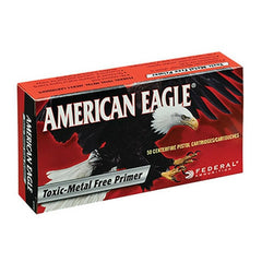 Federal America Eagle 9mm Total Metal Jacket 147 GR 50 Rnd Box