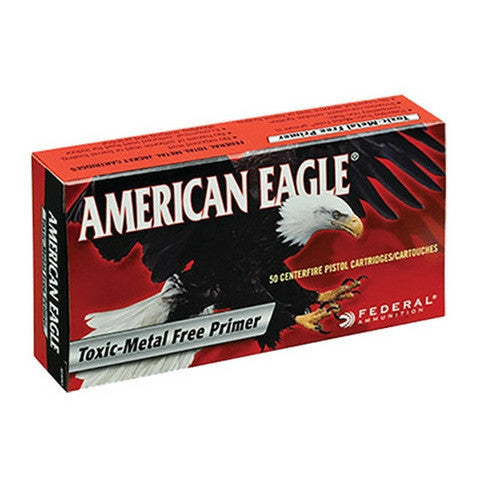 Federal American Eagle 38 Super +P Jacketed Hollow Point 115 GR 50 Rnd Box
