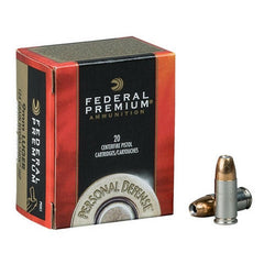 Federal Premium 9mm Hydra-Shok JHP 147 GR 20 Rnd Box