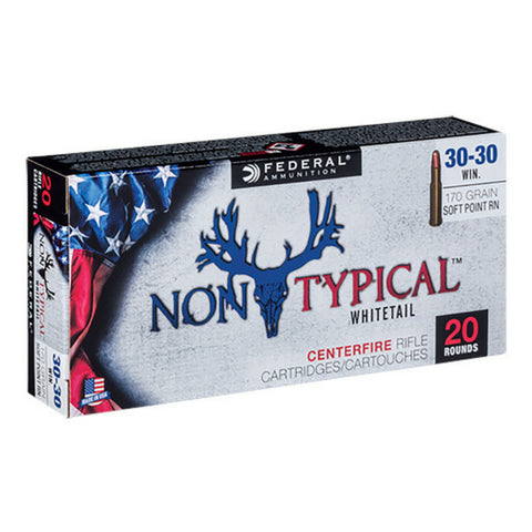 Federal 308 Win 180 Gr  Non-Typical Rifle Ammo SP (20)
