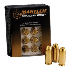 Magtech Guardian Gold 32 ACP 65 GR JHP 20 Rnd Box