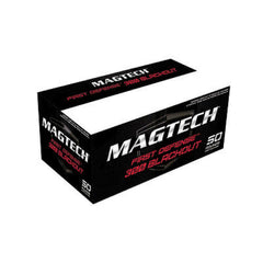 Magtech First Defense 300 Blackout 123 Grain Full Metal Jacket 50 Round Box