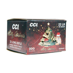 CCI 22 LR Lead Round Nose High Velocity 300 Rd Christmas Pack