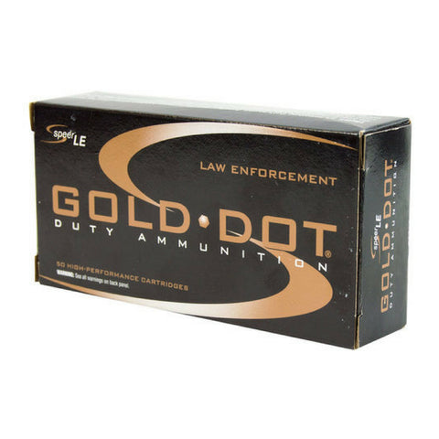 CCI Gold Dot 45 Auto 185 Gr Jacketed Hollow Point 50 Round Box