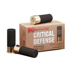"Hornady 12 Gauge 2.75"" Lead 8 Pellets 00 Buck Critical Defense (10)"