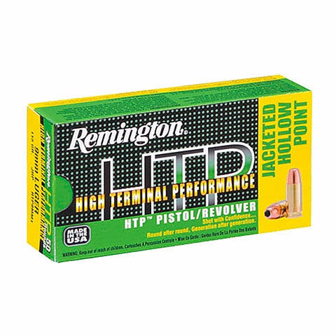 Remington 9MM 147 Gr High Terminal Performance HTP Subsonic JHP (50)