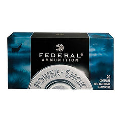 Federal Power-Shok 7.62X39 Soft Point 123 GR 20 Rnd Box