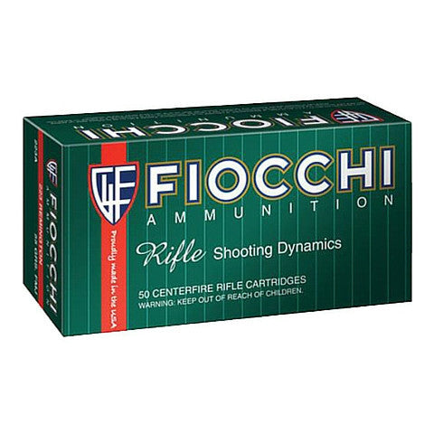 Fiocchi 25-06 Rem 117 Gr Boat Tail Soft Point 20 Rnd Box