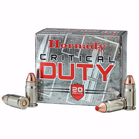 Hornady Critical Duty 40 S&W FlexLock 175 Gr 20 Rnd Box