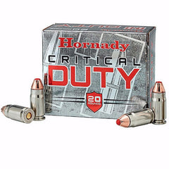 Hornady Critical Duty 45 ACP +P FlexLock 220 Gr 20 Rnd Box