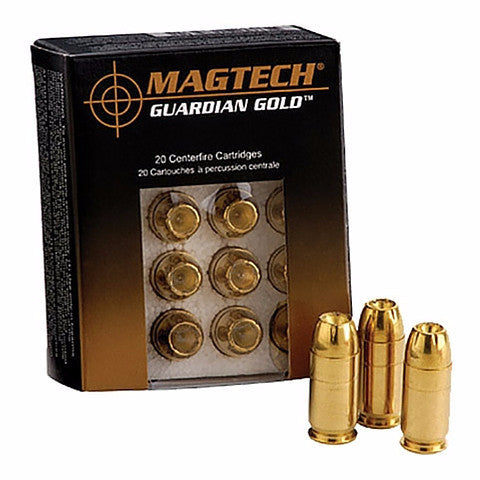 Magtech Guardian Gold 357 Magnum 125 Gr Jacketed Hollow Point