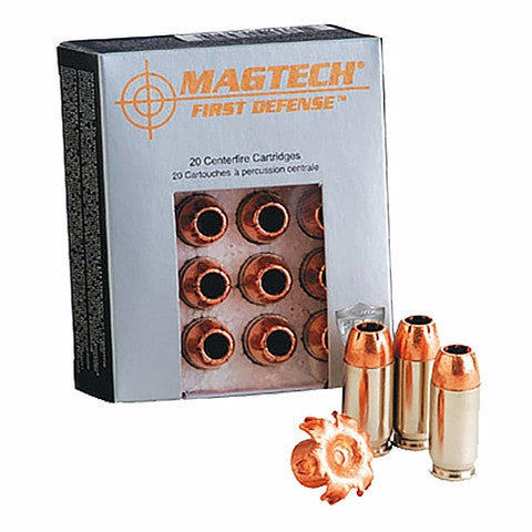 Magtech First Defense 38 Special+P 95 Grain Solid Copper Hollow Point