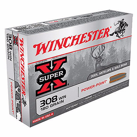 Winchester Super X 308 Win 180 Gr Power Point