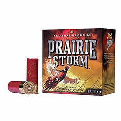 "Federal Premium Prairie Storm 12 Ga 2.75"" 1-1/4 oz 4 Shot 25 Rnd Box"